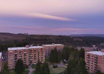 FeWo-Harz-Altenau_Balkon-Sonnenaufgang-morgens